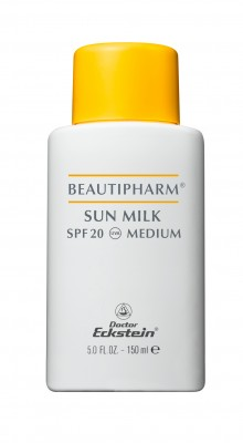 Beautipharm Sun Milk SPF 20 Medium 150 ml