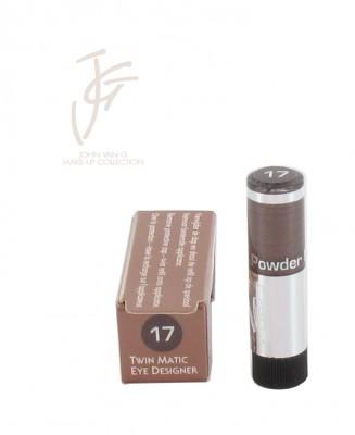 Twin matic eye designer refill nr. 17 (1+1 gratis) 1 st.