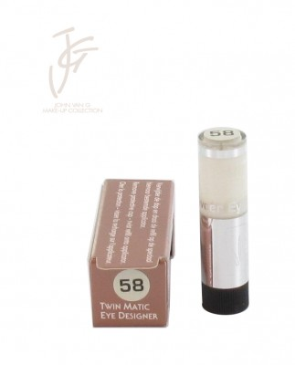 Twin matic eye designer refill nr. 58 (1+1 gratis) 1 st.