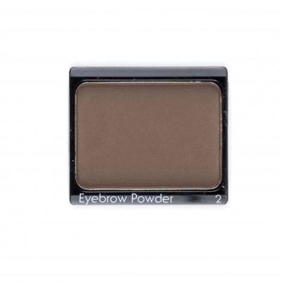 Eyebrow Powder nr. 2 (donkerbruin) 1 st.